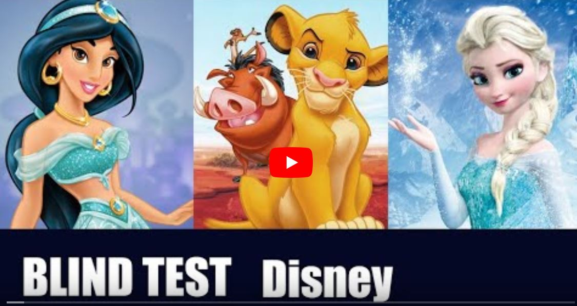 blindtest disney 1